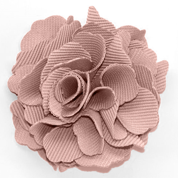 Additions sew on flowers grosgrain carnation flower dusty pink grosgrain carnation flower dusty pink mightylinksfo