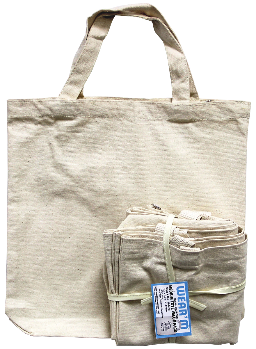 620102c9fbc Wear m™ Canvas    Bags   Totes    Canvas Tote 13.5x13.5x2in ...