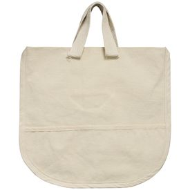 4baa9df3c Canvas Child Tote Combo w Pockets 12x19in | Natural