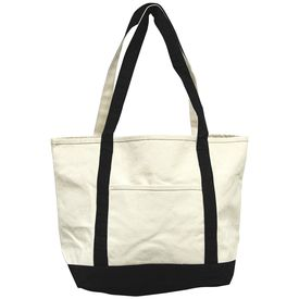 6a9efc784 Canvas Boat Bag 24x14x8in | Natural